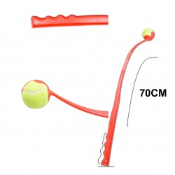 70CM BALL LAUNCHERS PETS FETCH TENNIS BALL DOG TRAINING OUTDOOR TOY(Pack of 2)