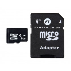 8GB Class 10 H2TESTW Pass Micro SD SDHC Memory Card With Free SD Adapter