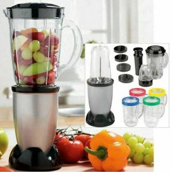 17PC MULTI BLENDER CHOPPER FOOD PROCESSOR 1.9 LITRE JUICER SMOOTHIE MAKER MIXER