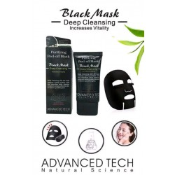 Blackhead Face Mask 50ml Peel-Off Cleansing Facial Black Charcoal Remover